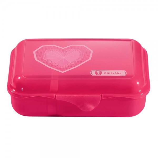 Step by Step Lunchbox Brotzeitbox Glitter Heart