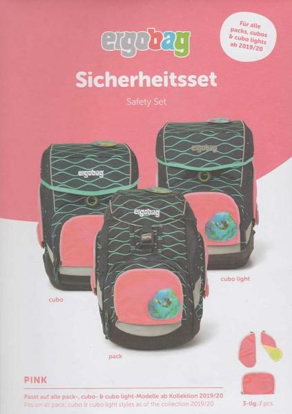 Ergobag Sicherheitsset 3-teilig Pink