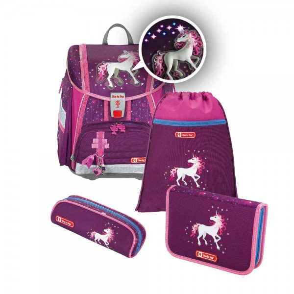 Step by Step Touch 2 FLASH Schulranzenset 4tlg. Unicorn