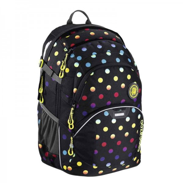 Coocazoo Schulrucksack JobJobber2 Magic Polka Colorful