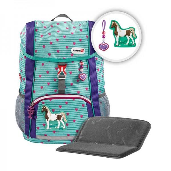 Step by Step KID Kindergartenrucksack-Set 3tlg. Schleich Horse Club