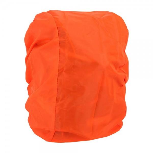 Regenschutzhülle für Schulranzen und Rucksäcke, Farbe Orange