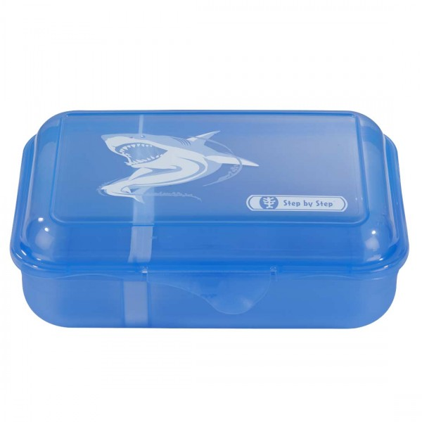 Step by Step Lunchbox Brotzeitbox Angry Shark