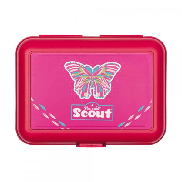 Scout Ess Box Brotdose Pink Butterfly