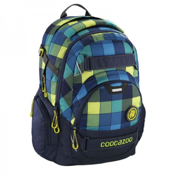 Coocazoo Schulrucksack CarryLarry 2 Lime District