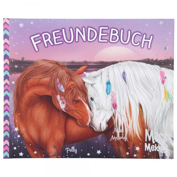 Freundebuch Miss Melody für Pferdefreunde