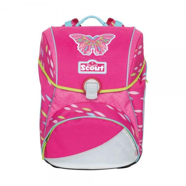 Scout Alpha Schulranzen Pink Butterfly