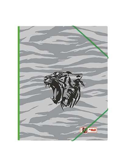 McNeill Gummizugmappe A4 Tiger