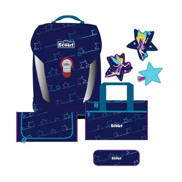 Scout Sunny II Schulranzen-Set 4tlg. Blue Star