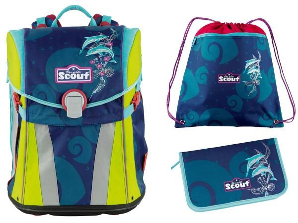 6e02836c74aec Scout Sunny Schulranzen-Set 3tlg. Florida günstig kaufen bei Top ...