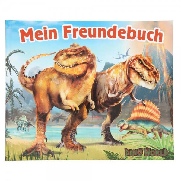 """Freundebuch """"Dino World"""" für Dinosaurier-Fans"""