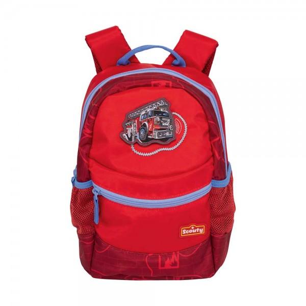 Scouty Kindergartenrucksack Rocky Feuerwehr