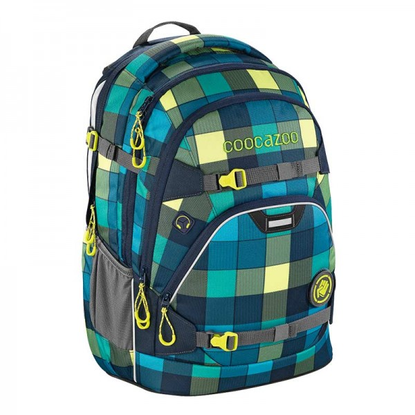 Coocazoo Schulrucksack ScaleRale Lime District