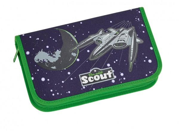 Scout Space Etui Federmäppchen 23tlg. Weltraum