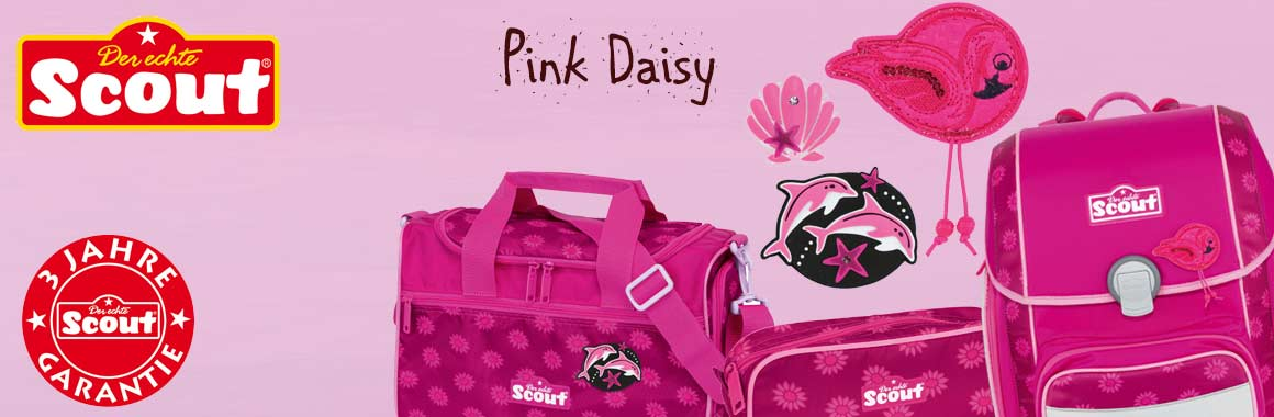 Scout Pink Daisy