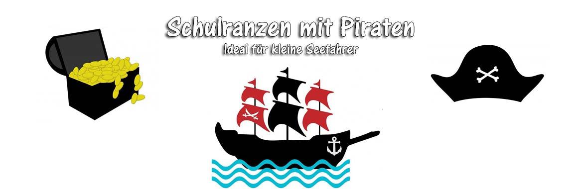 Schulranzen mit Piraten