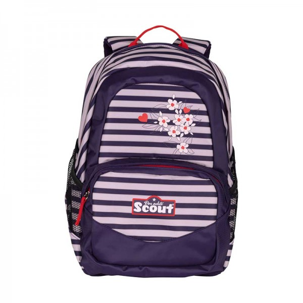 Scout Rucksack X Motiv Happy Stripes