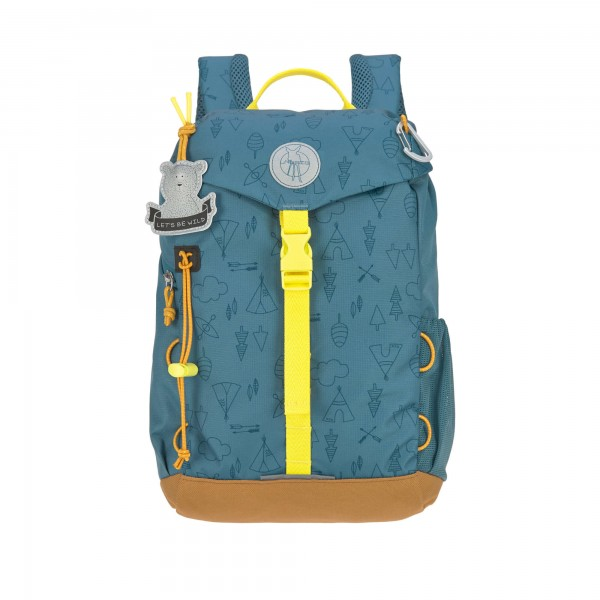 Lässig Kindergartenrucksack Outdoor Adventure Blue