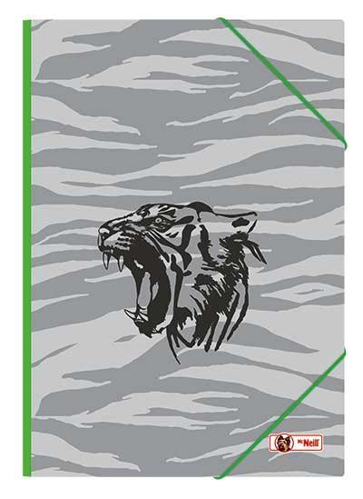 McNeill Gummizugmappe A3 Tiger