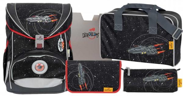 DerDieDas ErgoFlex Schulranzen-Set 5tlg. Stardust