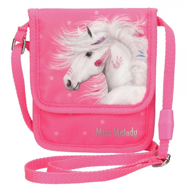 Miss Melody Brustbeutel Pferd (rosa)