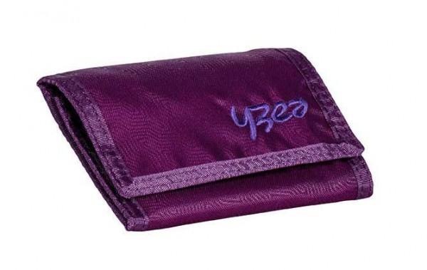 YZEA Wallet Geldbörse Aubergine
