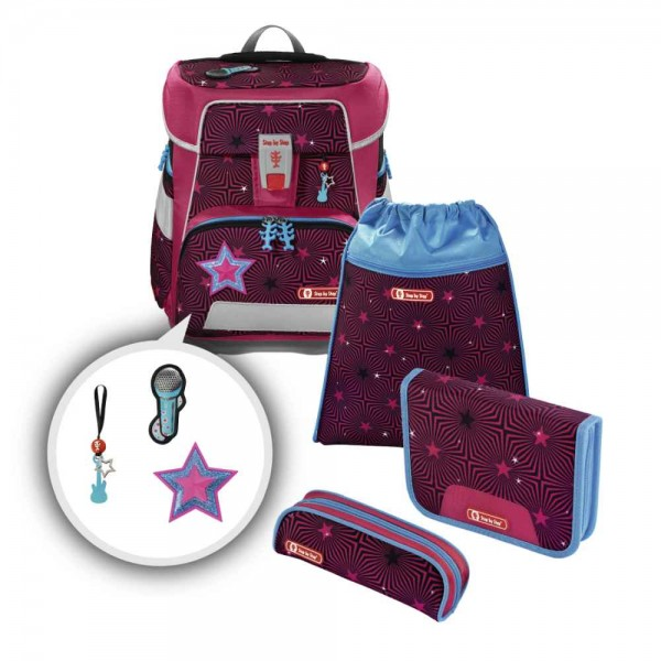 Step by Step Space Schulranzenset 4tlg. Popstar