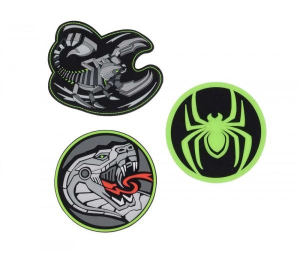 DerDieDas Buttons 3-teilig Scorpio