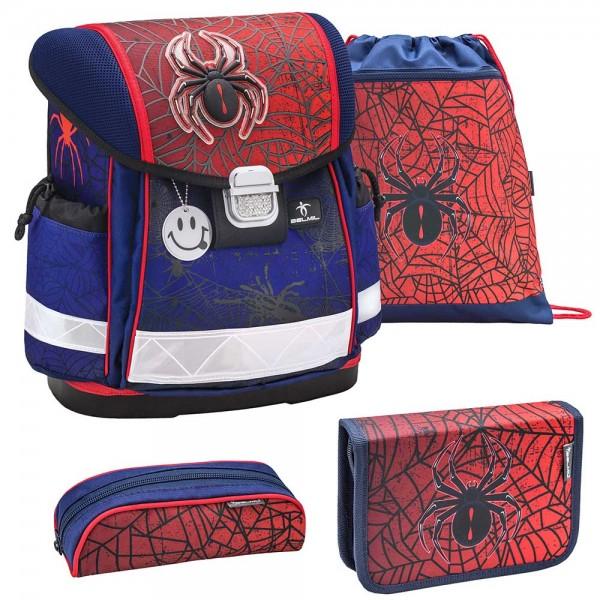 Belmil Classy Schulranzenset 4-teilig Spiders