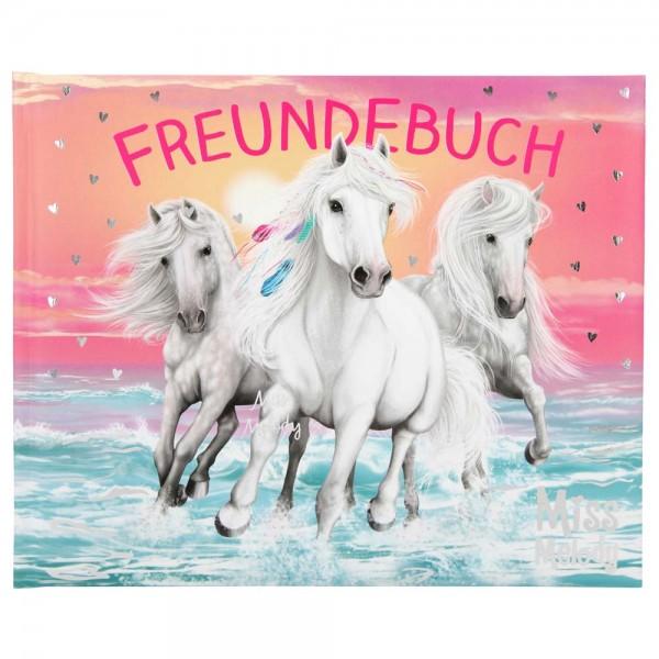 Freundebuch Miss Melody mit Pferde am Strand