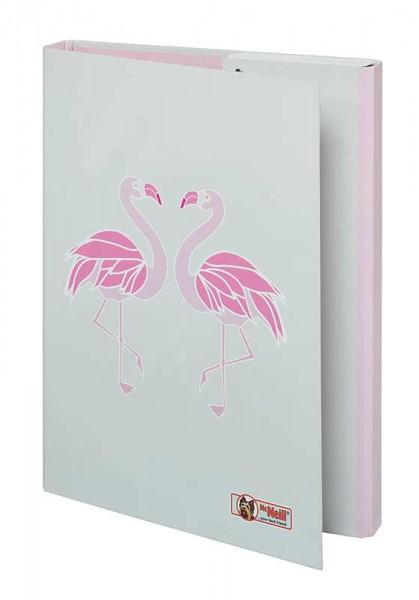 McNeill Heftbox DIN A4 Flamingo