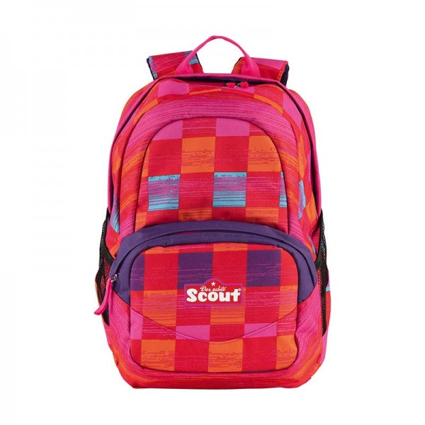 Scout Rucksack X Motiv Pink Rainbow
