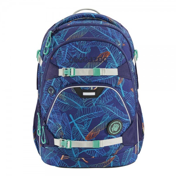 Coocazoo Schulrucksack ScaleRale Jungle Night