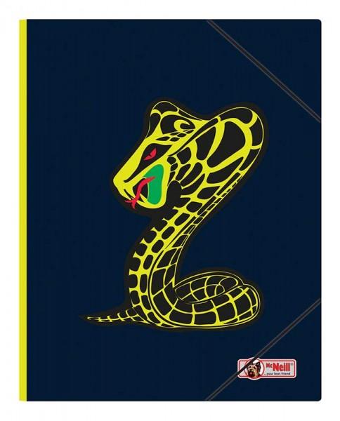 McNeill Gummizugmappe A3 Snake