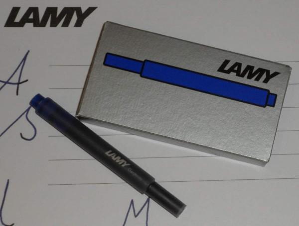 LAMY Tintenpatronen T10 Blau