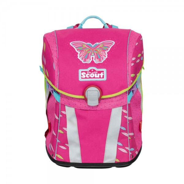 Scout Sunny Schulranzen Pink Butterfly