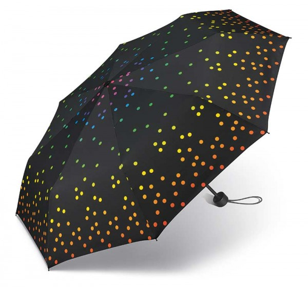 Regenschirm Super Mini Rainbow Dots