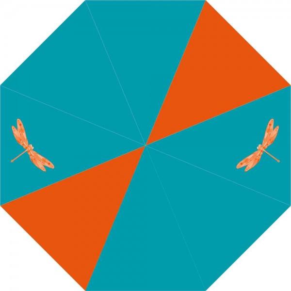 McNeill Regenschirm Taschenschirm Orange