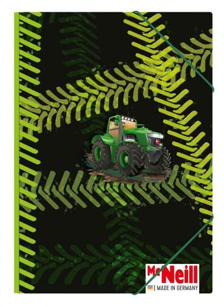 McNeill Gummizugmappe A3 Traktor