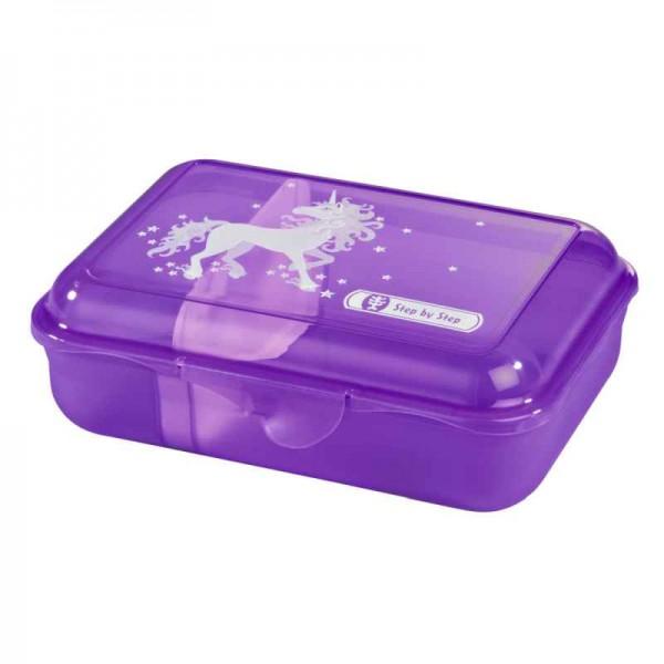 Step by Step Lunchbox Brotzeitbox Unicorn