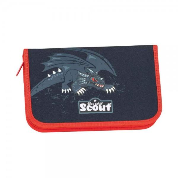 Scout Etui Federmäppchen 23tlg. Black Dragon