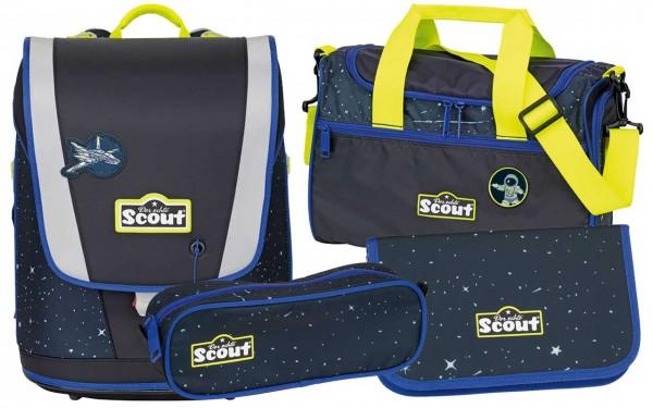 Scout Ultra Schulranzenset 4tlg. Space