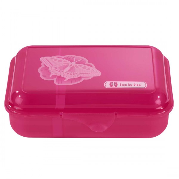 Step by Step Lunchbox Brotzeitbox Natural Butterfly