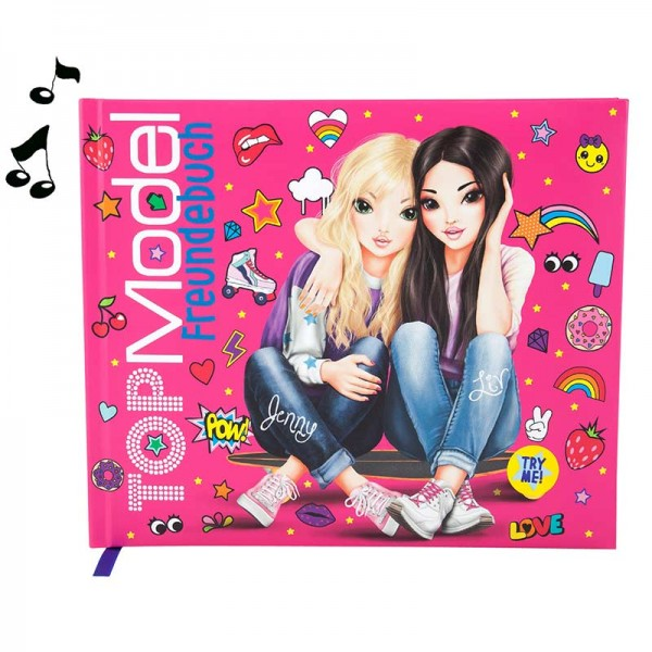 Freundebuch TOP Model Jenny und Liv