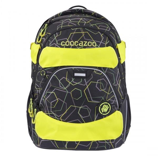 Coocazoo gelber Neon Pull-Over GuardPart für Rucksack ScaleRale