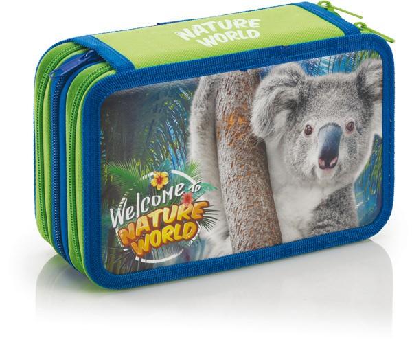 "3-fach Federmäppchen ""Nature World"" Koala"