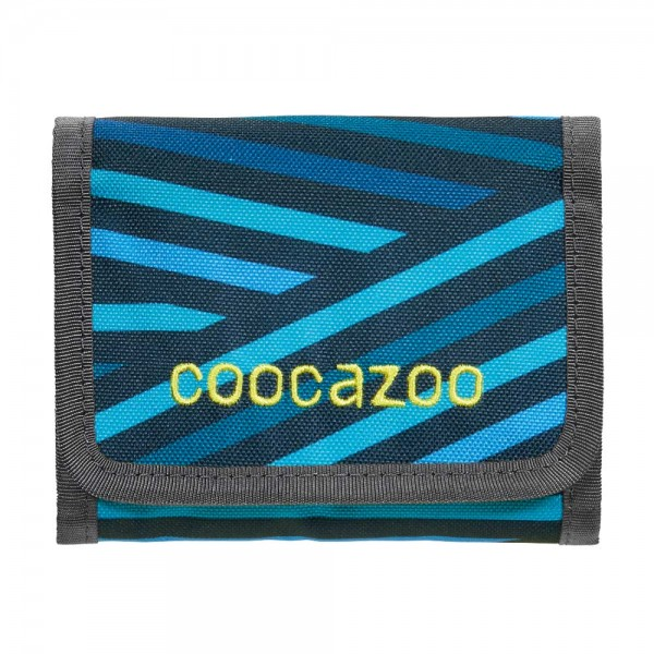 Coocazoo Geldbörse Cash Dash Zebra Stripe Blue