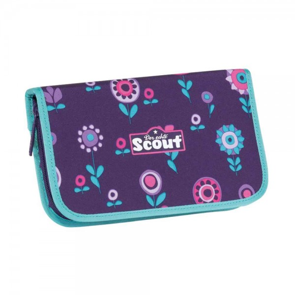 Scout Etui Federmäppchen 23tlg. Blueberry