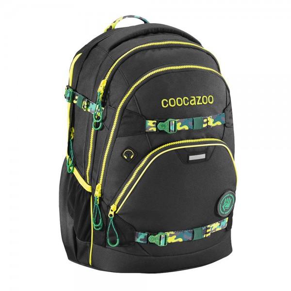 Coocazoo Schulrucksack e-ScaleRale TecCheck Black