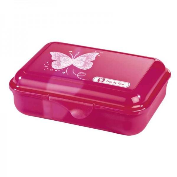 Step by Step Lunchbox Brotzeitbox Shiny Butterfly